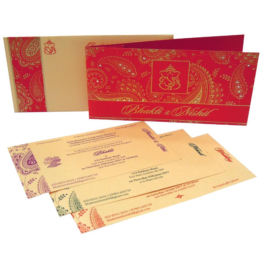MC 6013 – Best Wedding Cards | 1000+ Wedding Invitation Collection ...
