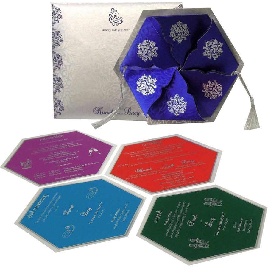MC 6030 – Best Wedding Cards | 1000+ Wedding Invitation Collection ...