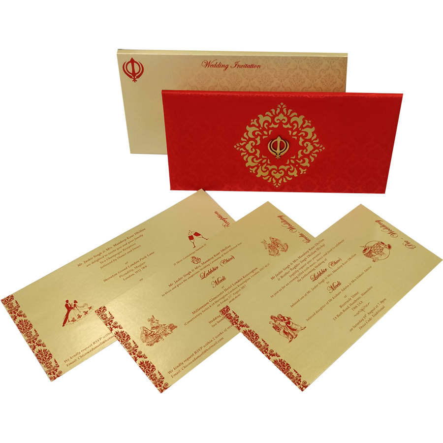 MC 6073 – Best Wedding Cards | 1000+ Wedding Invitation Collection ...