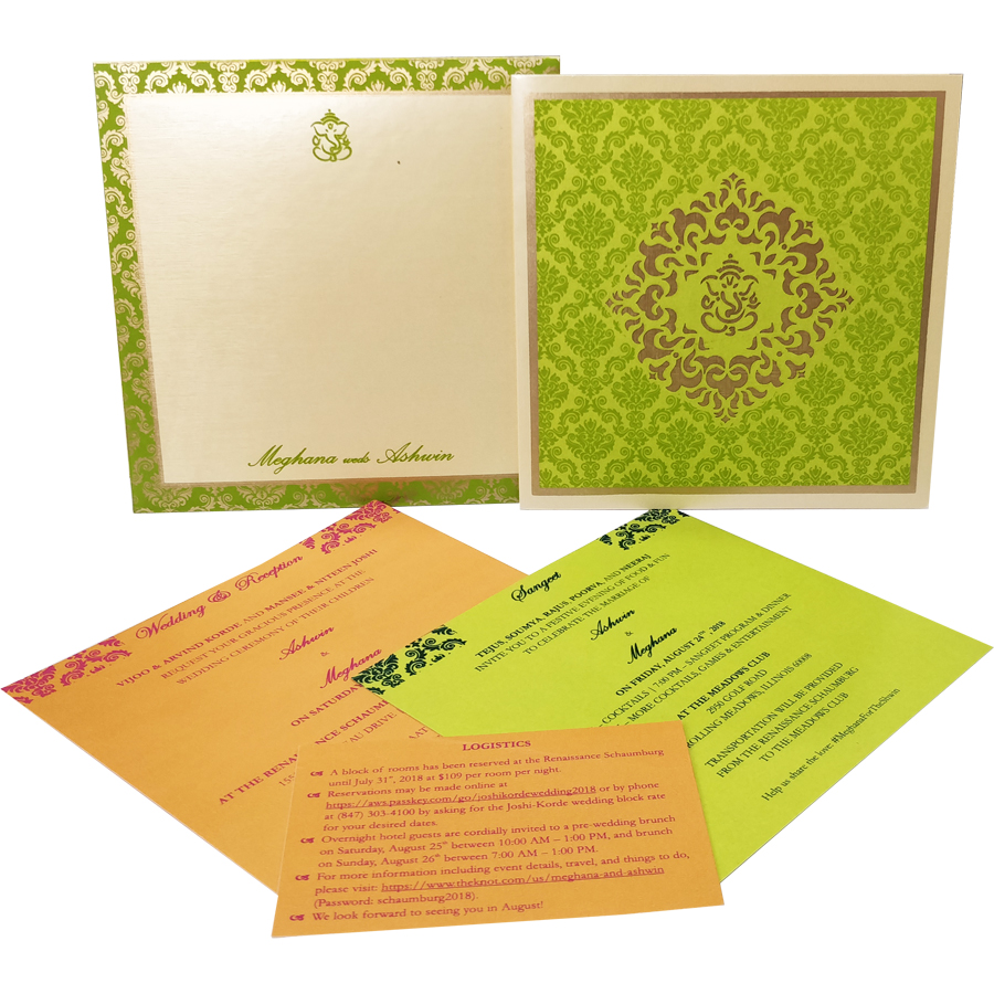 Wedding Card | Indian Wedding Cards | Wedding Invitation Cards In Ahmedabad, India, Usa and Uk 6080-1 Metro Cards : Wedding Cards, Invitation Cards Collection In Ahmedabad, India, Usa and Uk