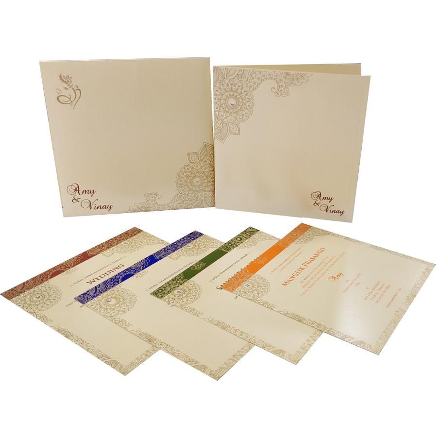 MC 6082 – Best Wedding Cards | 1000+ Wedding Invitation Collection ...