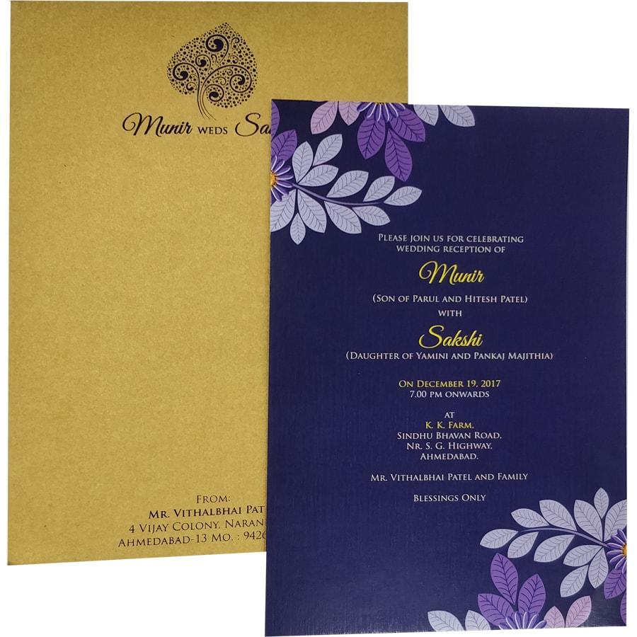 Indian Wedding Invitation Content: Invitation Cards – Wedding Card