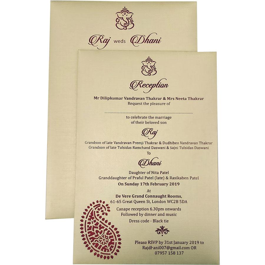 413 – Wedding Card | Indian Wedding Cards | Wedding Invitation Cards In  Ahmedabad, India, Usa and Uk