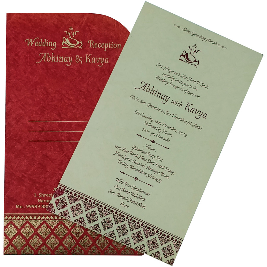 431 – Wedding Cards – Wedding Card | Indian Wedding Cards | Wedding  Invitation Cards In Ahmedabad, India, Usa and Uk